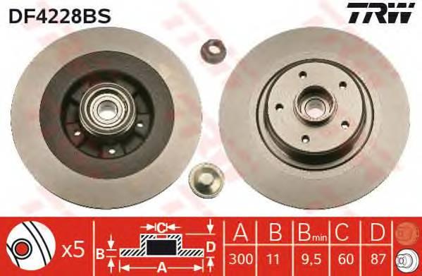 TRW DF4228BS купить в Украине по выгодным ценам от компании ULC