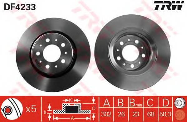 TRW DF4233 купить в Украине по выгодным ценам от компании ULC