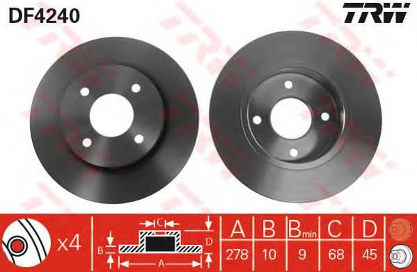 TRW DF4240 купить в Украине по выгодным ценам от компании ULC