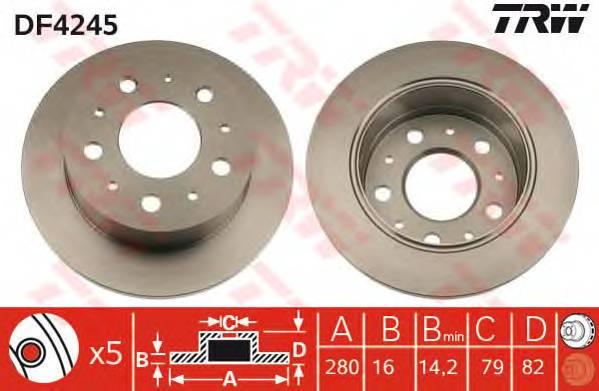 TRW DF4245 купить в Украине по выгодным ценам от компании ULC