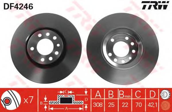 TRW DF4246 купить в Украине по выгодным ценам от компании ULC