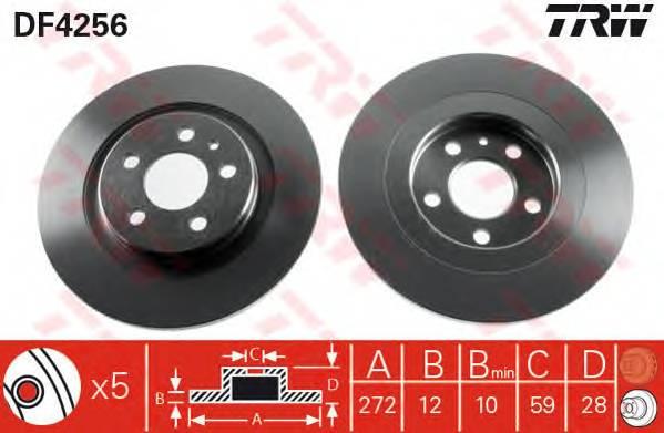 TRW DF4256 купить в Украине по выгодным ценам от компании ULC