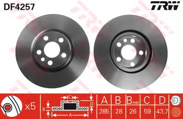 TRW DF4257 купить в Украине по выгодным ценам от компании ULC