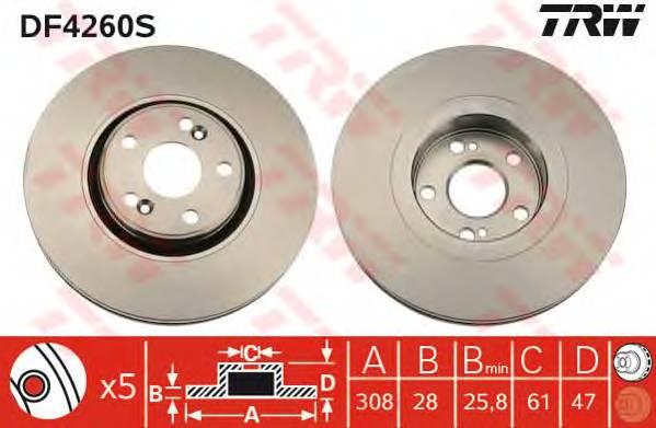 TRW DF4260S купить в Украине по выгодным ценам от компании ULC