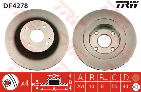 TRW DF4278 купить в Украине по выгодным ценам от компании ULC