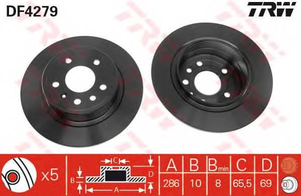 TRW DF4279 купить в Украине по выгодным ценам от компании ULC