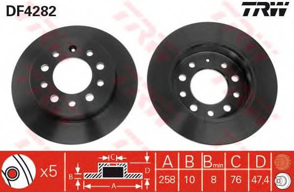 TRW DF4282 купить в Украине по выгодным ценам от компании ULC