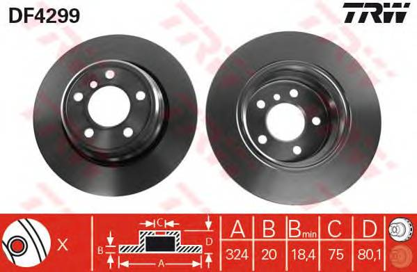TRW DF4299 купить в Украине по выгодным ценам от компании ULC