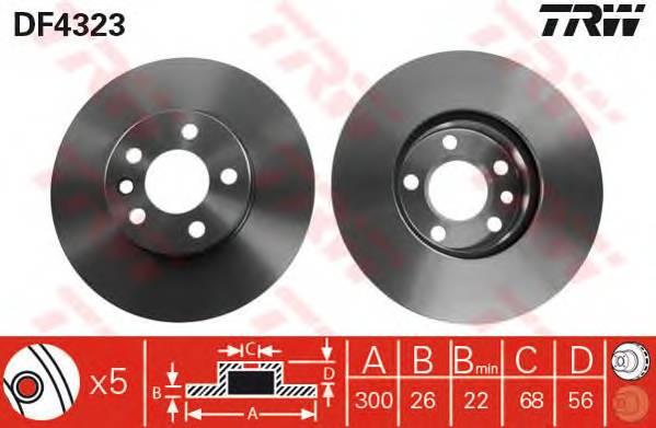 TRW DF4323 купить в Украине по выгодным ценам от компании ULC