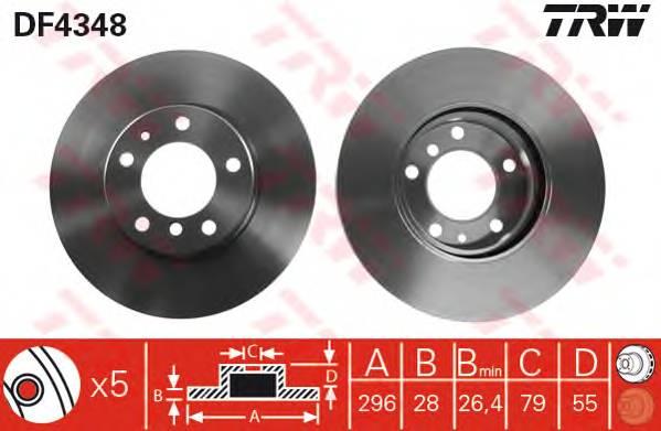 TRW DF4348 купить в Украине по выгодным ценам от компании ULC