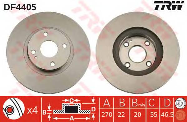 TRW DF4405 купить в Украине по выгодным ценам от компании ULC