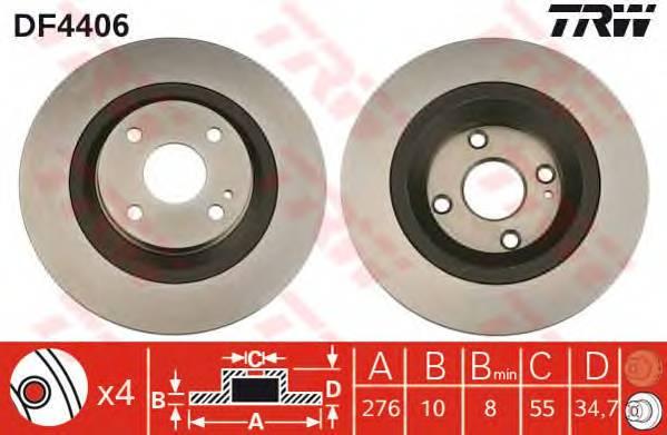 TRW DF4406 купить в Украине по выгодным ценам от компании ULC