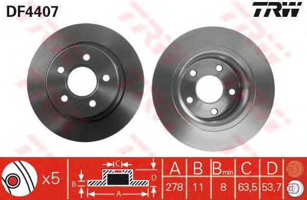 TRW DF4407 купить в Украине по выгодным ценам от компании ULC