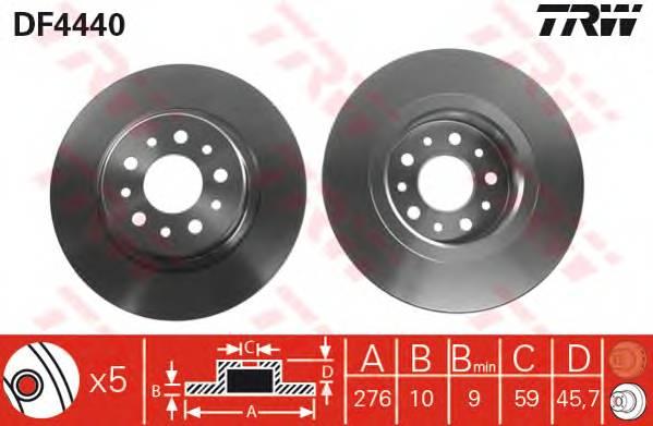 TRW DF4440 купить в Украине по выгодным ценам от компании ULC