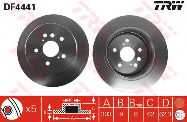 TRW DF4441 купить в Украине по выгодным ценам от компании ULC
