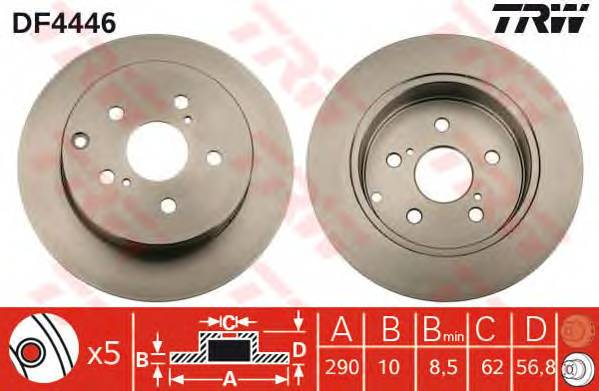 TRW DF4446 купить в Украине по выгодным ценам от компании ULC