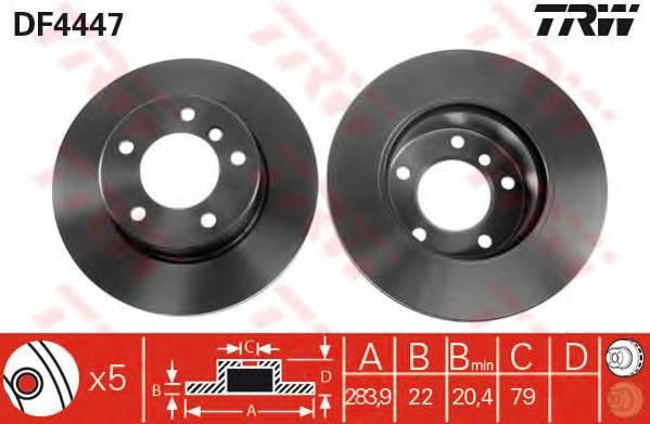 TRW DF4447 купить в Украине по выгодным ценам от компании ULC
