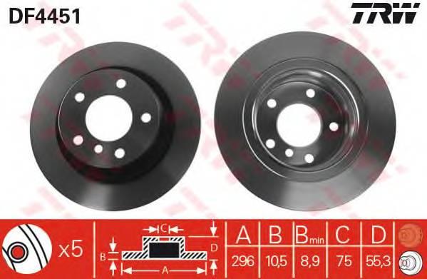 TRW DF4451 купить в Украине по выгодным ценам от компании ULC