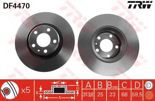 TRW DF4470 купить в Украине по выгодным ценам от компании ULC