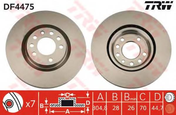 TRW DF4475 купить в Украине по выгодным ценам от компании ULC