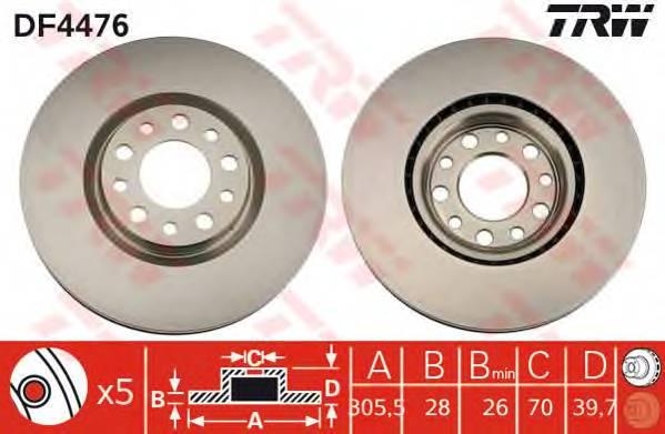 TRW DF4476 купить в Украине по выгодным ценам от компании ULC
