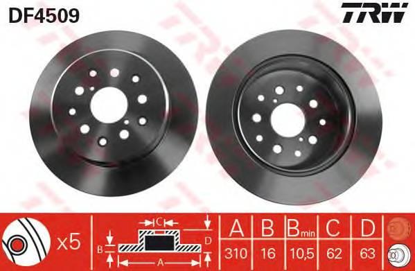 TRW DF4509 купить в Украине по выгодным ценам от компании ULC