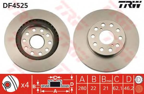 TRW DF4525 купить в Украине по выгодным ценам от компании ULC
