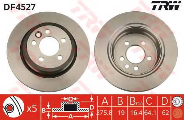 TRW DF4527 купить в Украине по выгодным ценам от компании ULC