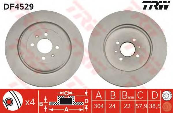 TRW DF4529 купить в Украине по выгодным ценам от компании ULC