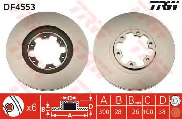 TRW DF4553 купить в Украине по выгодным ценам от компании ULC