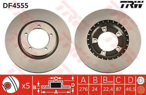 TRW DF4555 купить в Украине по выгодным ценам от компании ULC