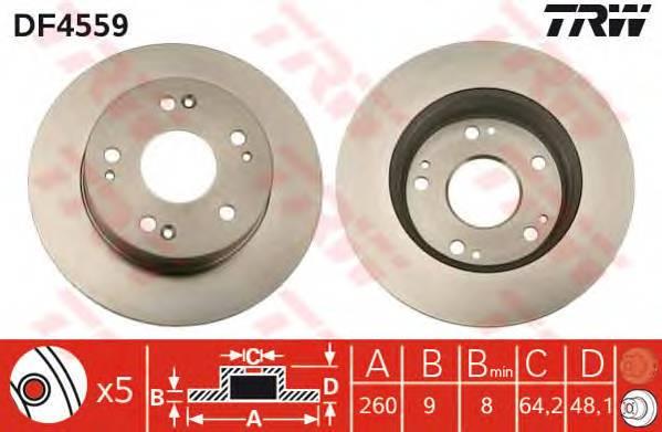 TRW DF4559 купить в Украине по выгодным ценам от компании ULC