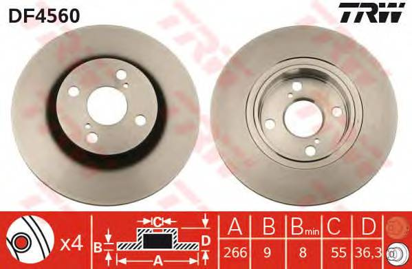 TRW DF4560 купить в Украине по выгодным ценам от компании ULC