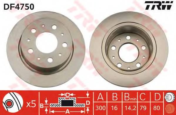 TRW DF4750 купить в Украине по выгодным ценам от компании ULC
