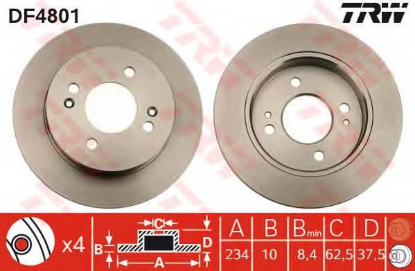 TRW DF4801 купить в Украине по выгодным ценам от компании ULC