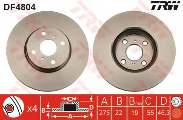 TRW DF4804 купить в Украине по выгодным ценам от компании ULC
