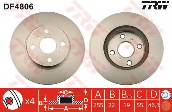 TRW DF4806 купить в Украине по выгодным ценам от компании ULC