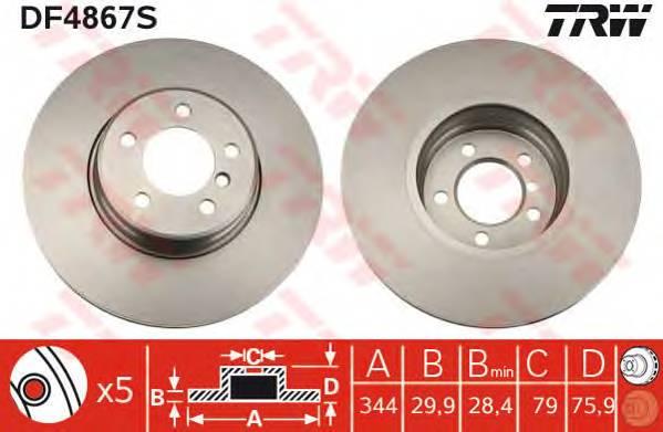 TRW DF4867S купить в Украине по выгодным ценам от компании ULC