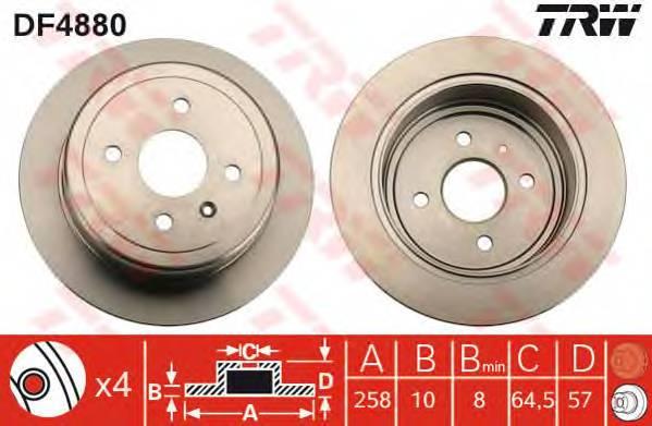 TRW DF4880 купить в Украине по выгодным ценам от компании ULC