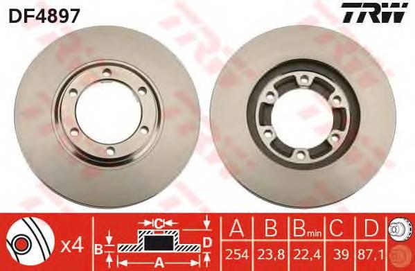 TRW DF4897 купить в Украине по выгодным ценам от компании ULC