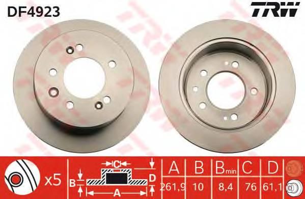 TRW DF4923 купить в Украине по выгодным ценам от компании ULC