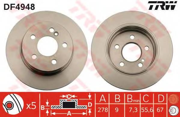 TRW DF4948 купить в Украине по выгодным ценам от компании ULC