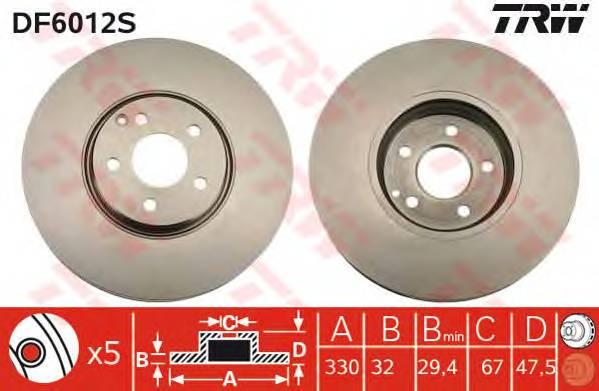 TRW DF6012S купить в Украине по выгодным ценам от компании ULC