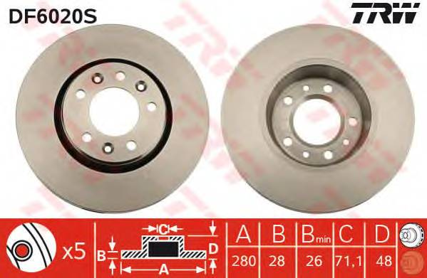 TRW DF6020S купить в Украине по выгодным ценам от компании ULC