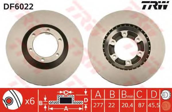 TRW DF6022 купить в Украине по выгодным ценам от компании ULC