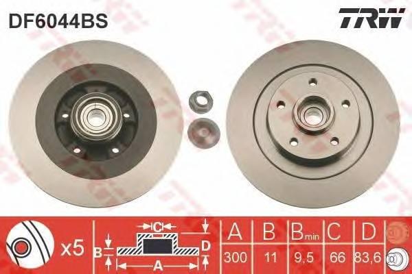 TRW DF6044BS купить в Украине по выгодным ценам от компании ULC