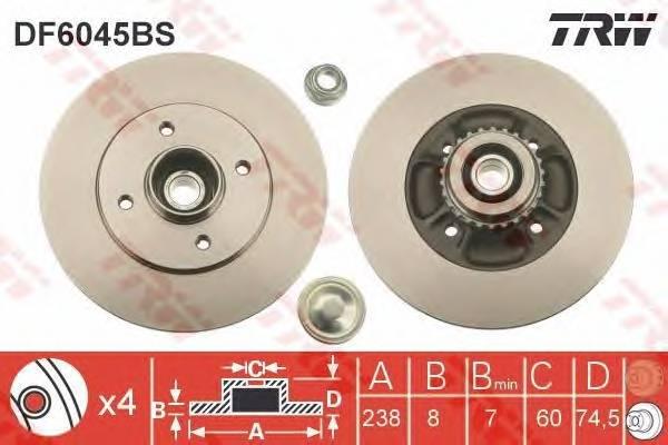TRW DF6045BS купить в Украине по выгодным ценам от компании ULC