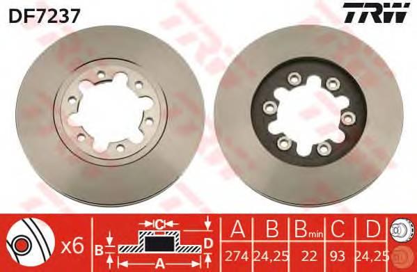 TRW DF7237 купить в Украине по выгодным ценам от компании ULC