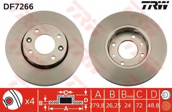 TRW DF7266 купить в Украине по выгодным ценам от компании ULC