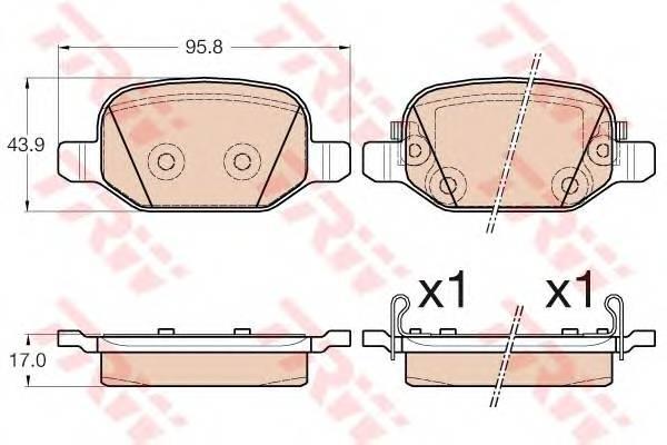 TRW GDB2002 купить в Украине по выгодным ценам от компании ULC
